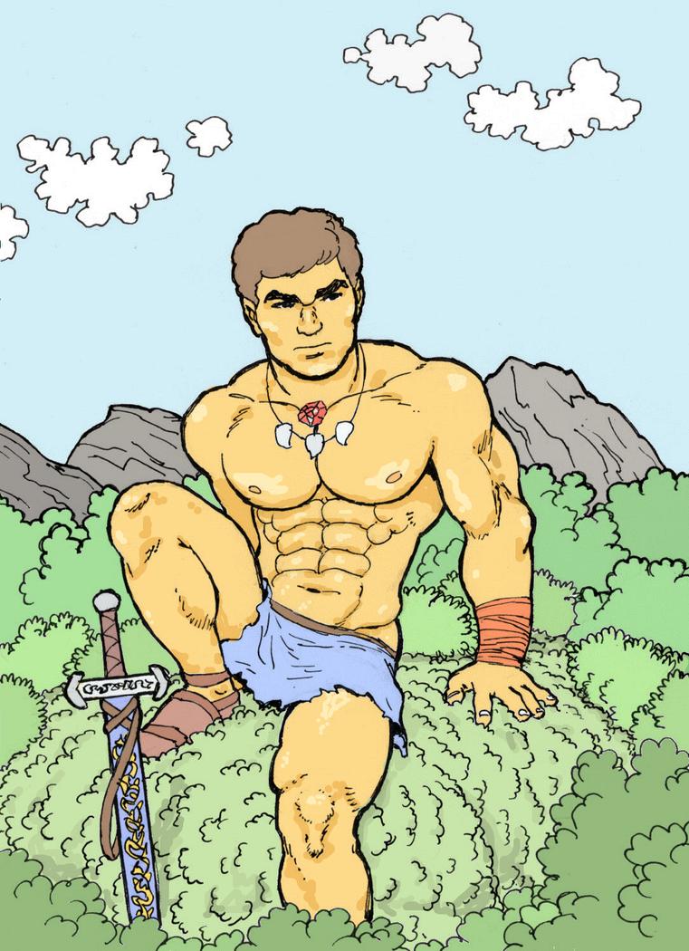 Swordsman by AlMearveck