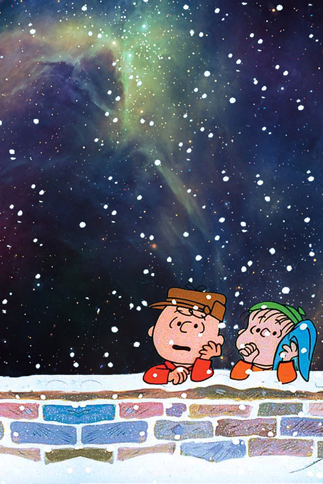 Charlie Brown Christmas (iphone wallpaper) by drexxs on ...