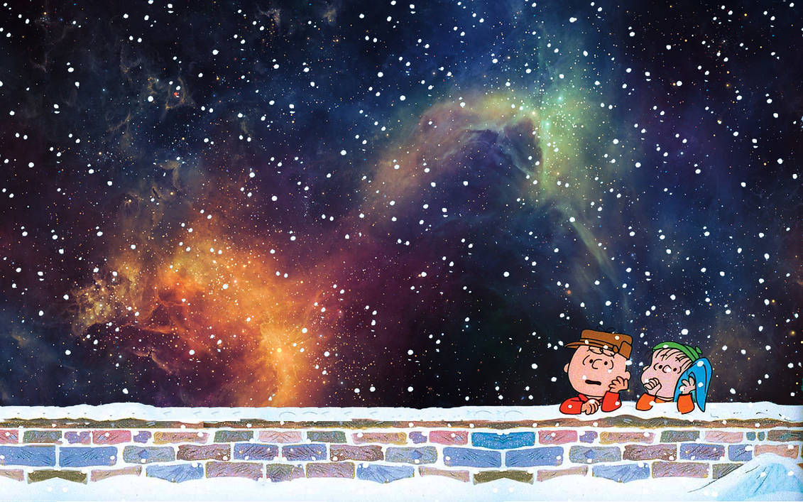 Peanuts christmas(wallpaper) by drexxs