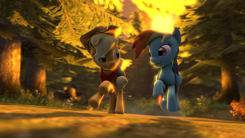 Running of the Leaves [SFM] by argodaemon