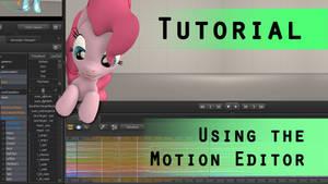SFM Tutorial: Using the Motion Editor