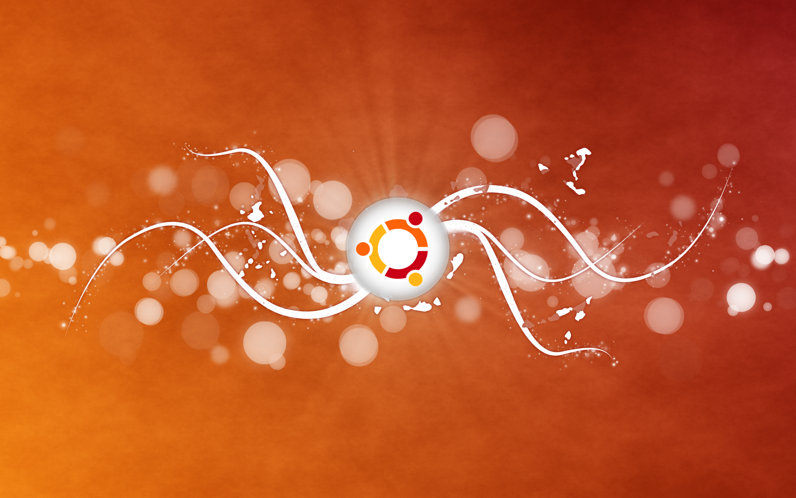 Abstract Ubuntu Wallpaper by sonicboom1226