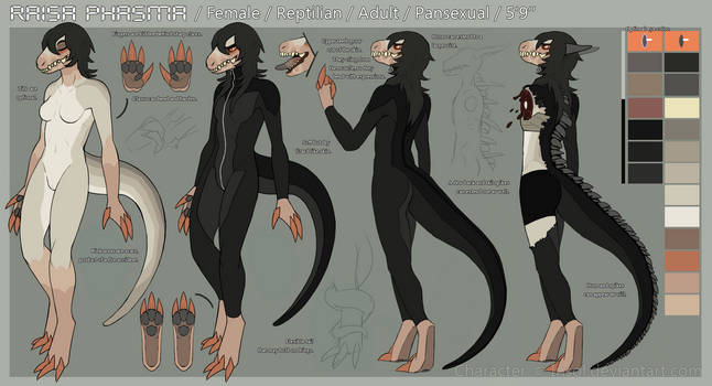 Space! Raisa reference sheet SEPTEMBER 2015 by Ziboe