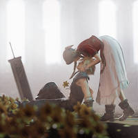 Aerith and Cloud...