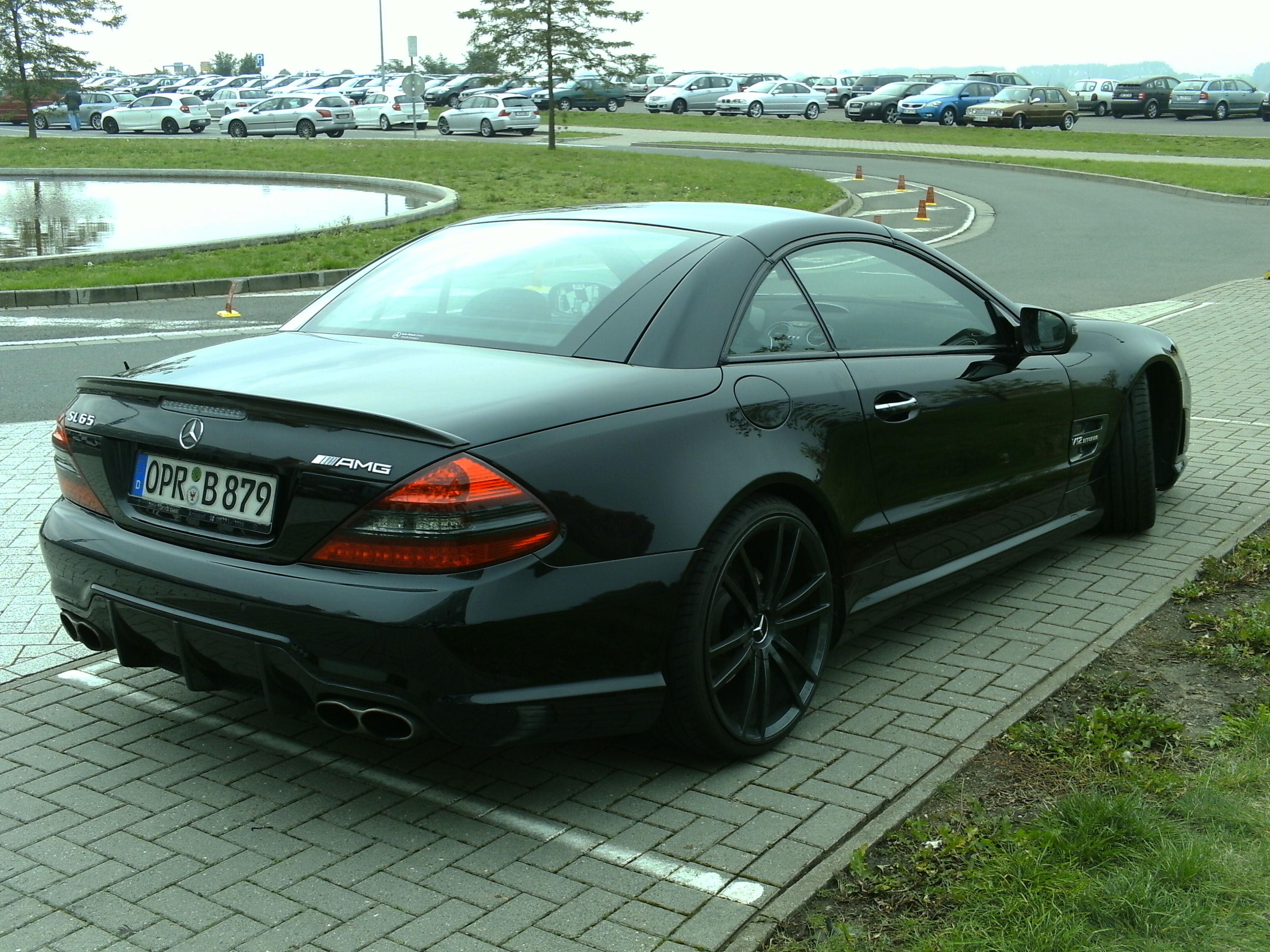 Mercedes benz sl65 amg v12 biturbo back by swat316 on for Mercedes benz amg v12 biturbo