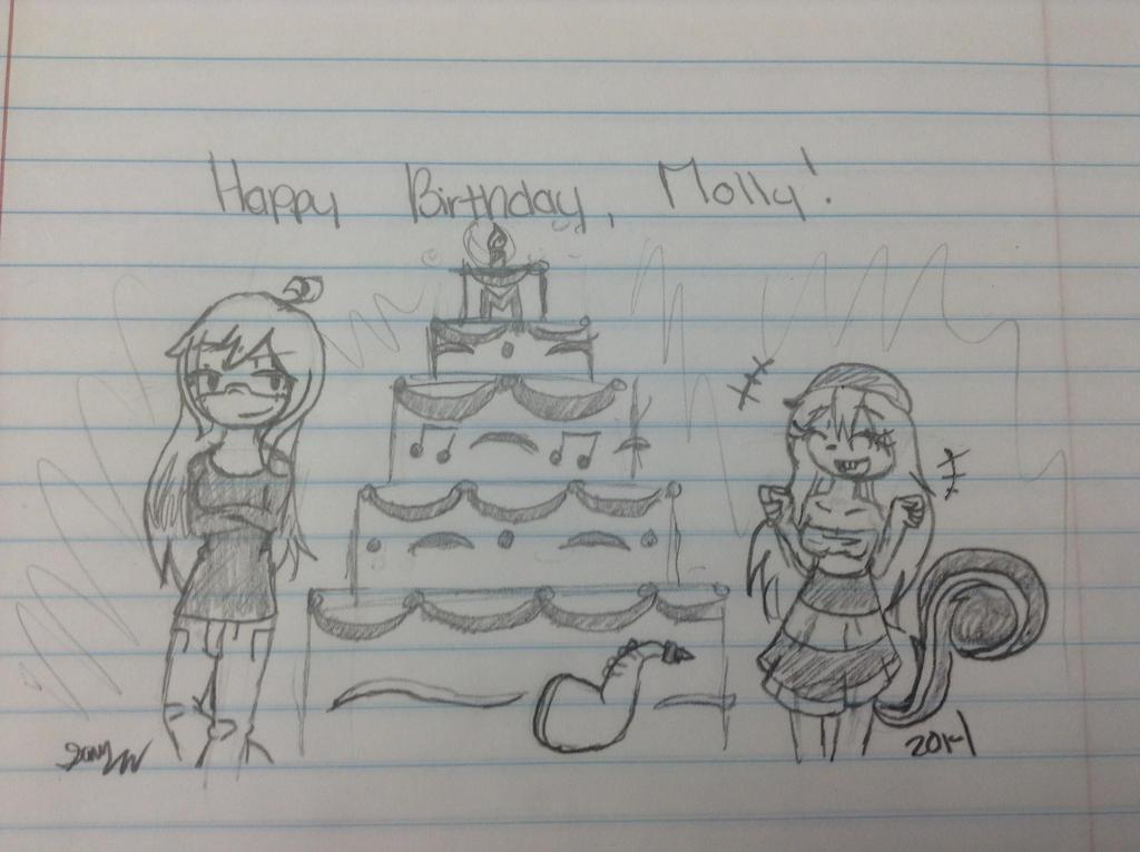 Happy Birthday Molly by NerdINC12