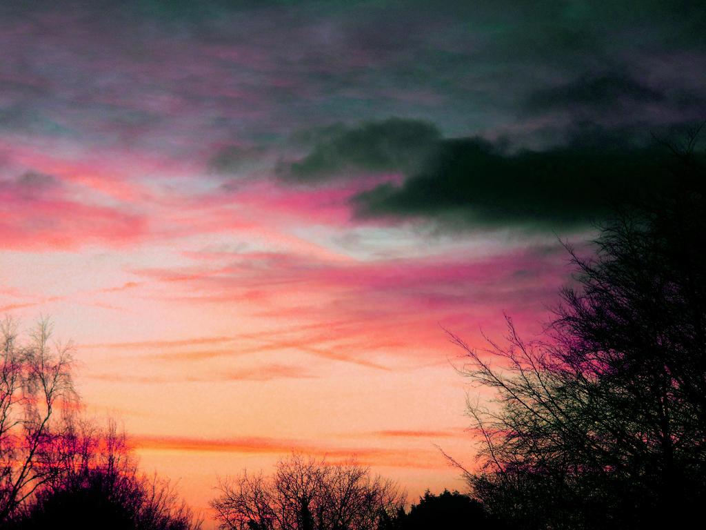 Sunset by DizzyIceSpark