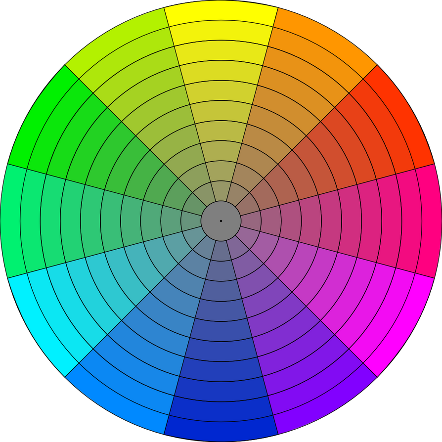 Chroma Wheel for Gamut Mapping by FengL0ng