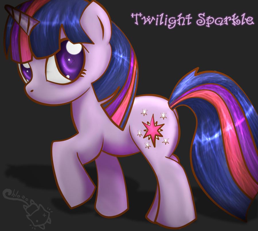 Twilight Sparkle by Chlo-Zo-Neko