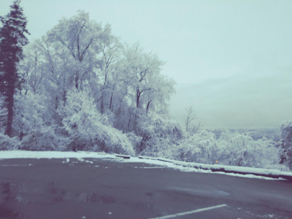 Frozen Landscape by Jay-Yumi