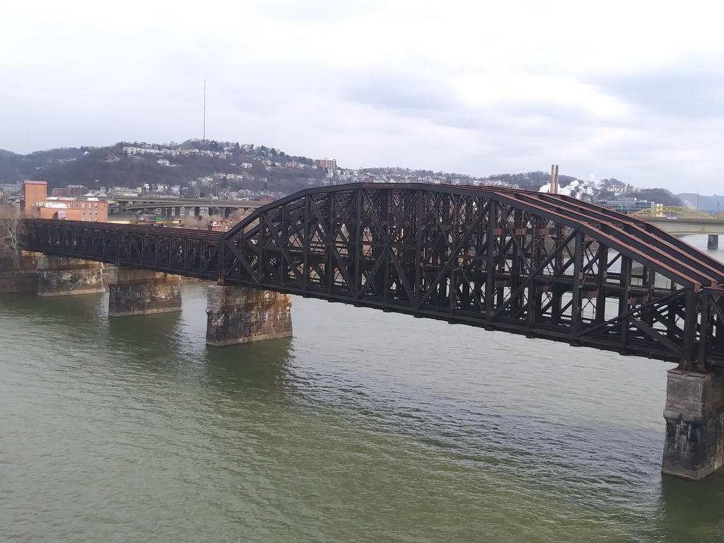 Rusted Bridge by Jay-Yumi