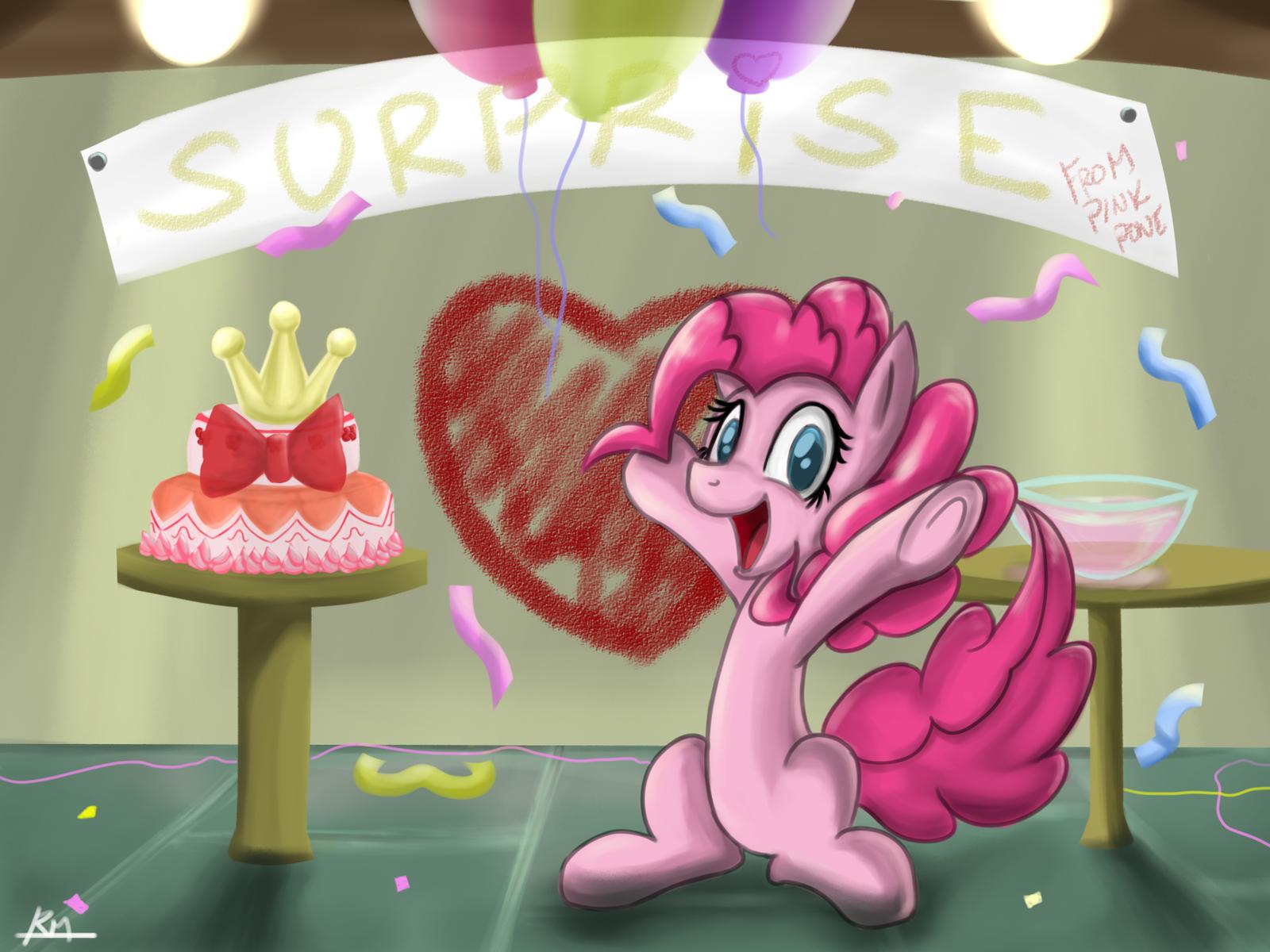 Pink Pony by Reikomuffin