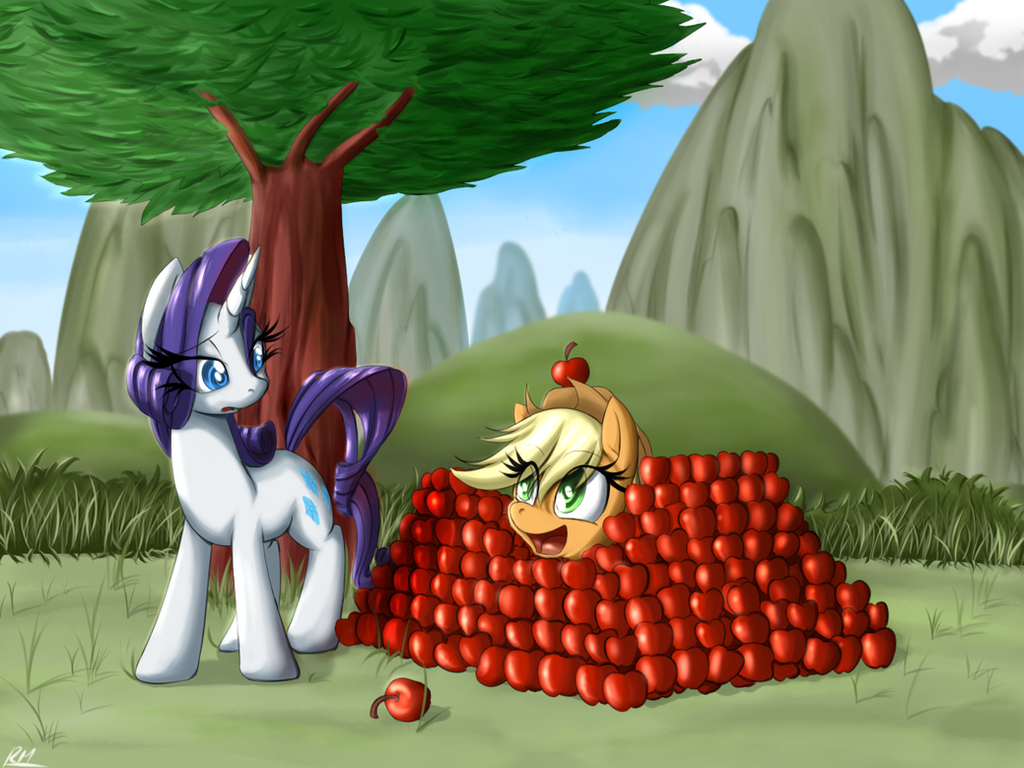 Applefort by Reikomuffin
