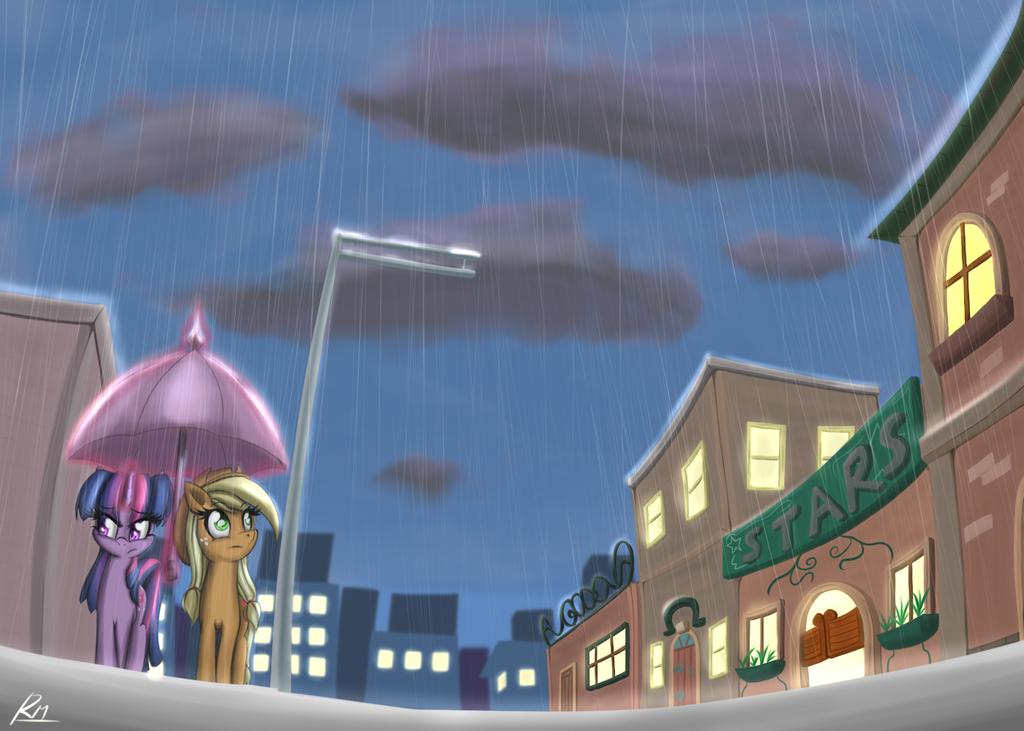 Raindrops by Reikomuffin