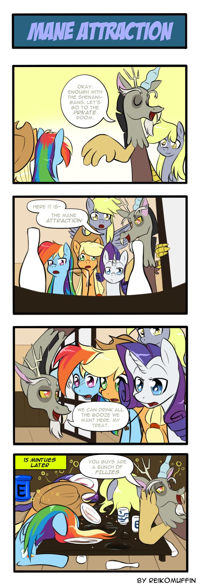Pony 4 Koma - Mane Attraction by Reikomuffin