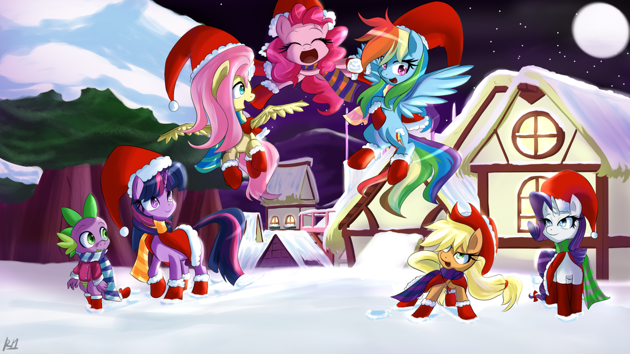 Another Year of Hearth's Warming by Reikomuffin