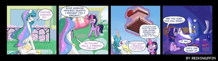 Pony Shorts : Dream Cake by Reikomuffin