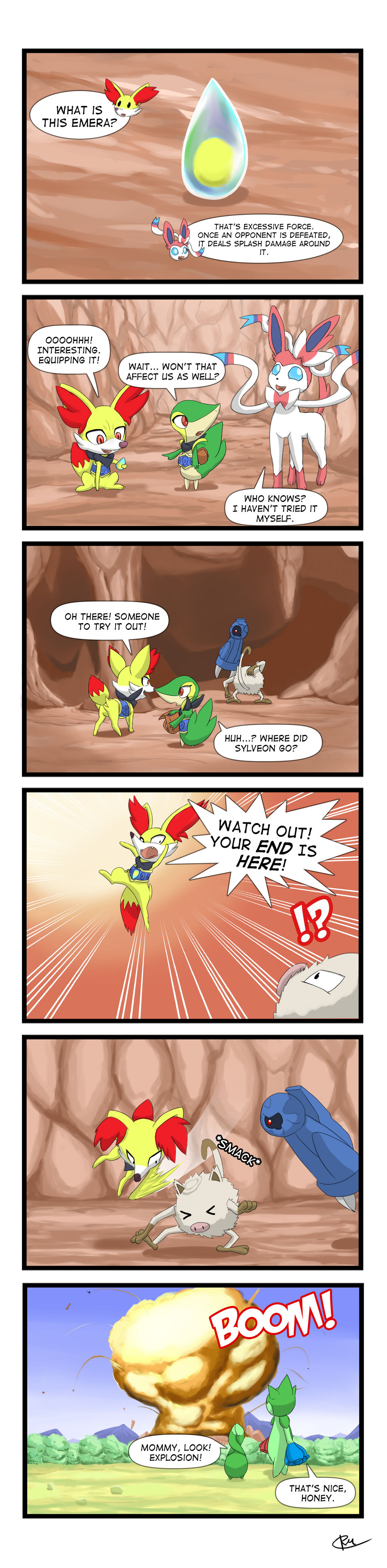 PSMD - Excessive Force by Reikomuffin