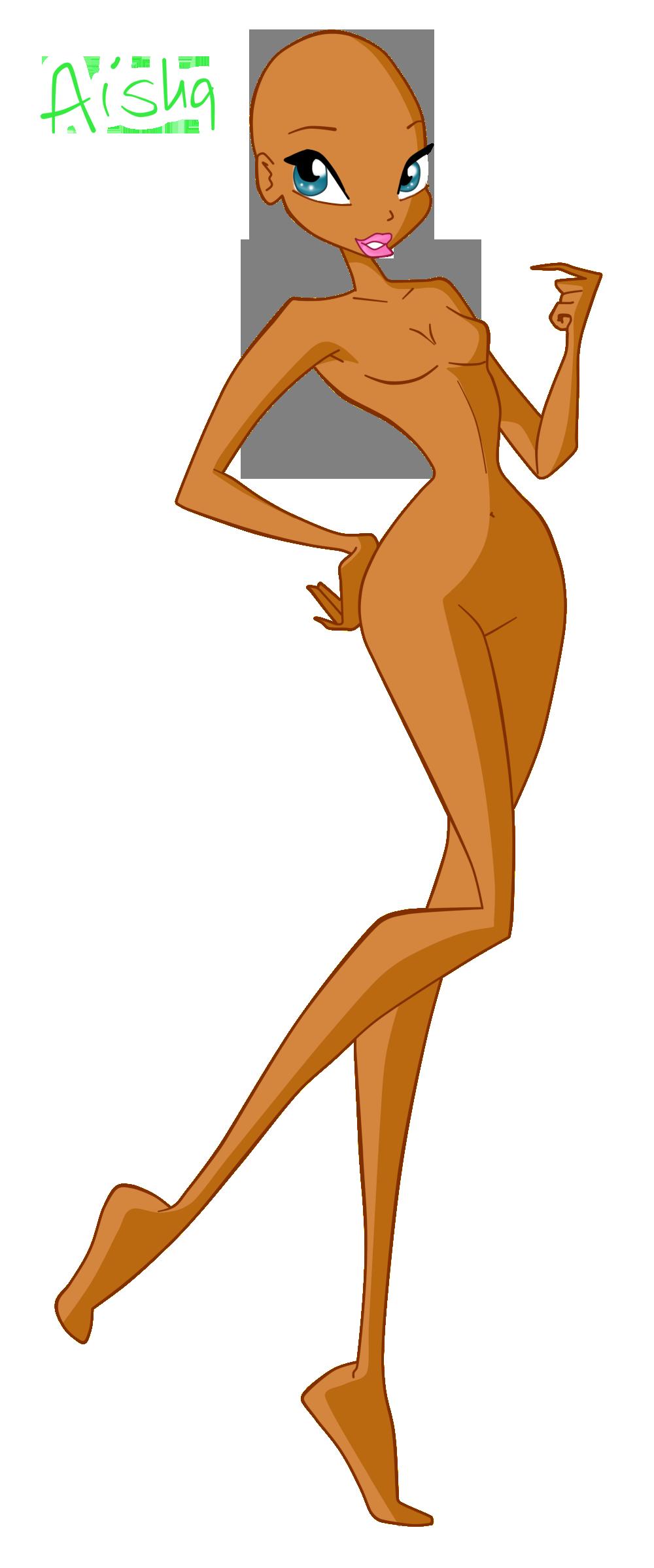 Winx Layla base by werunchick