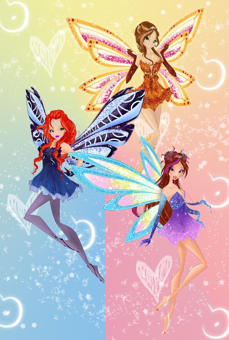 Enchantix Couture Trio by werunchick