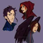 Character's portraits
