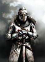 Blood on armor by dmavromatis