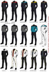 ST:O - Uniforms progress