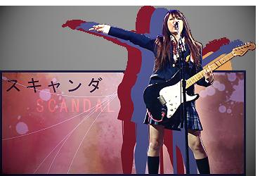 SCANDAL signature by NG-yopyop