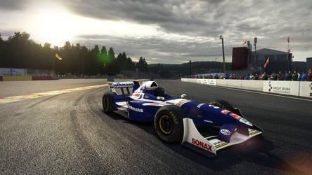 Williams FW19 Livery for Lola B05/52 by NG-yopyop