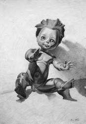 Black doll by KonaRos