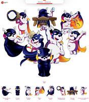 Bivius - mascot by KonaRos
