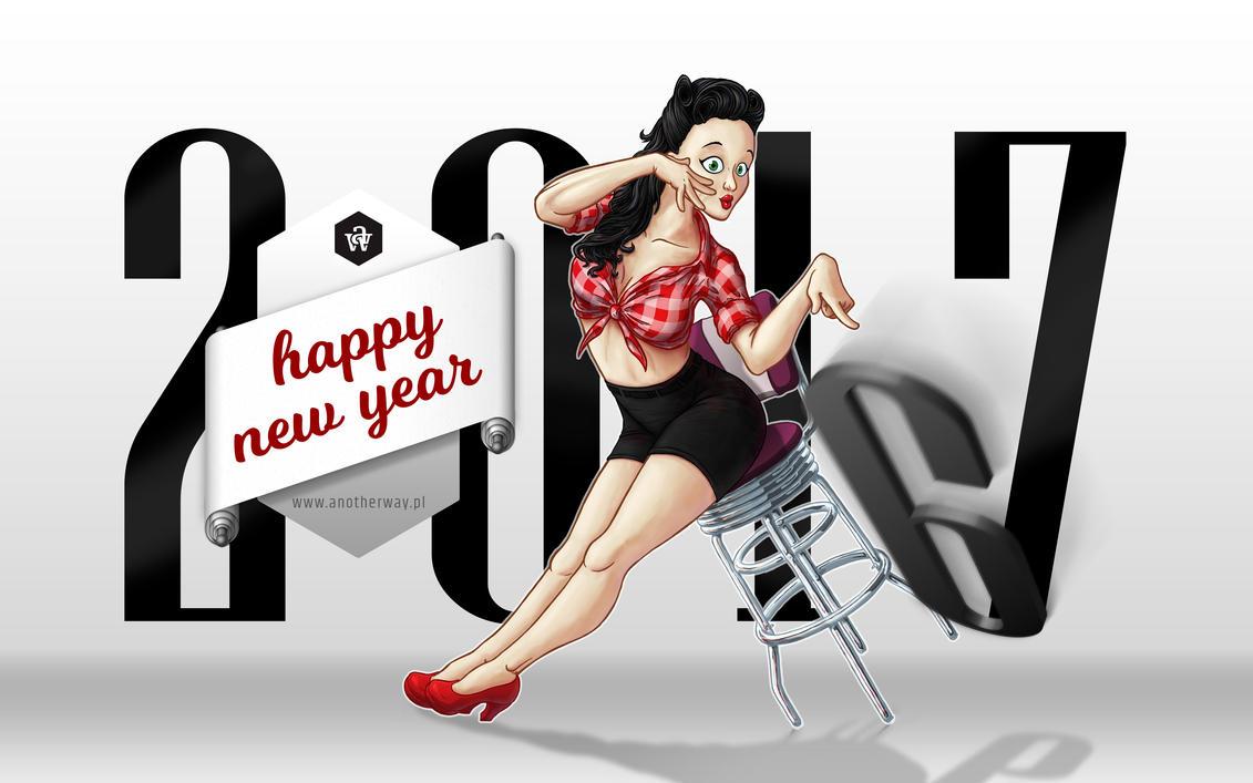 Happy New Year 2017 by KonaRos