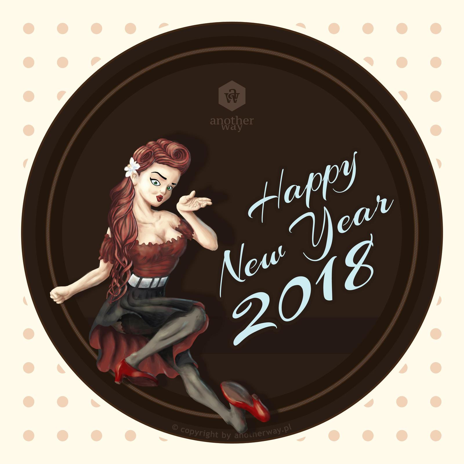 Happy New Year - 2018 by KonaRos