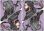 FF XV Kingsglaive Card: Glaives