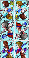 Final Fantasy X and X-2 Cards