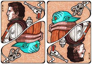 The Mandalorian Card: Dean Jarin and Baby Yoda