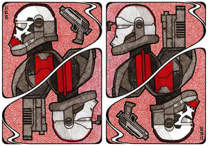 The Clone Wars Card: Hunter and Crosshair