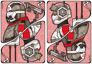 The Clone Wars Card: Wrecker and Tech