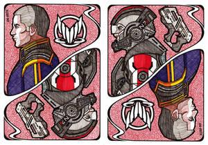 Mass Effect Cards: Commander John Shepard