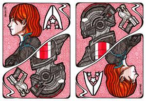 Mass Effect Cards: Commander Jane Shepard
