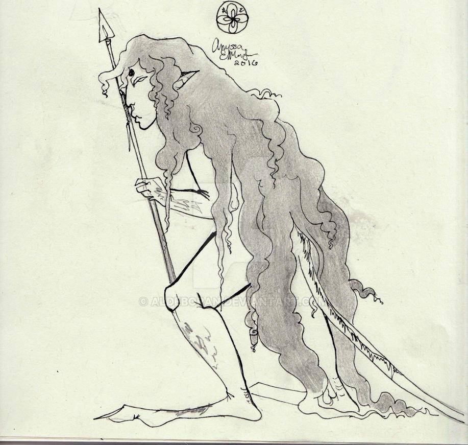 Pygmy (new OC/Second Concept/Doodle) by Aldeboran