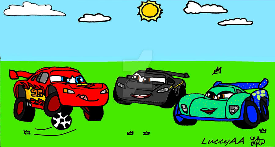 Soccer Cars By Lightninggirl95 On Deviantart