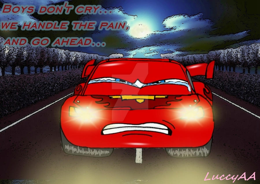 Racer Boys Don T Cry By Lightninggirl95 On Deviantart