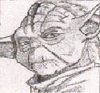 Yoda Portrait by TKVonMerrik