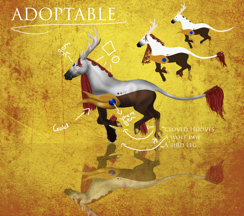 HORSE ADOPTABLE  - CLOSED