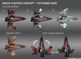Sith Starfighter Concept by kieranoats