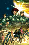 Starship Troopers issue4 cover