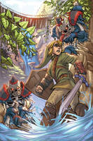 Zelda by kieranoats