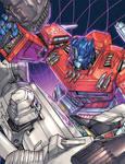 Optimus Prime vs. Megatron