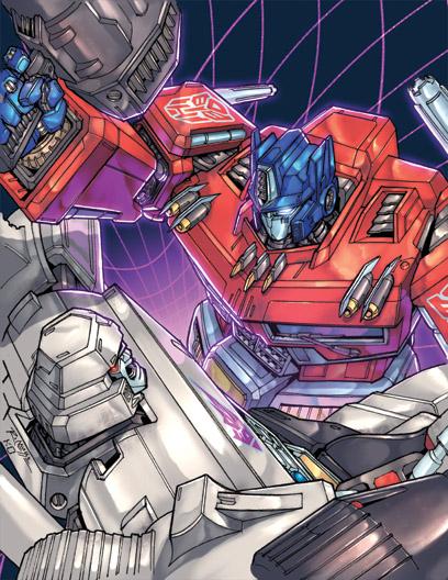 Optimus prime vs megatron by kieranoats on deviantart - Transformers cartoon optimus prime vs megatron ...